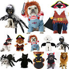 Halloween Pet Dog Cat Bat Spider Clothes Party Fancy Dress Cosplay Funny Costume