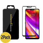 {1-10 Pack} SOINEED® LG G7 ThinQ G710 FULL COVER Tempered Glass Screen Protector