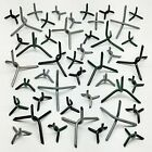 10 Large Caltrops - Road Tire Spikes Stars Immobilizers - 5 colors - Heavy Steel