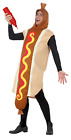 Adults Mens Ladies Hotdog Fast Food Funny Novelty Fancy Dress Costume Outfit