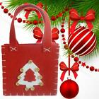 1pc Cute Christmas Tree Gift Bags Festive Candy Present Packing Storage J8z4