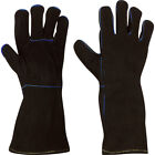 Welding Gloves Cowhide Leather,  Made with Kevlar, Barbecue, Fireplace, Welder