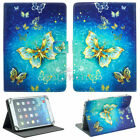 "Folio Stand Flip PU Leather Cover Case For Samsung/Lenovo/LG Tablet 10"" inch US"