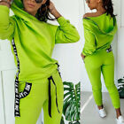 Hoodie 2 Pieces Women Set Sport Casual Outfit for Women Sweat Suit Tracksuit Set