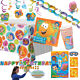 BUBBLE GUPPIES Birthday Party Ranges Amscan - Tableware Balloons Stickers Games