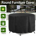 Uk Waterproof Patio Furniture Cover Outdoor Garden Large Round Table Chair Cover