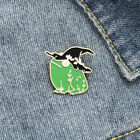Green Frog With Wizard hat enamel pin kawaii hat lapel bag brooch adorable gift