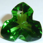 Lab Created Helenite Trillion Faceted Loose Gemstones Fine Cut AAA 4mm-10mm