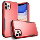 For Apple iPhone 11 Pro Max Case Shockproof Hybrid Bumper Hard Rubber TPU Cover