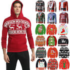 Women Men Unisex Christmas Xmas Ugly Jumper Pullover Funny Sweater Top Hoodie M