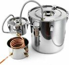 30L Distiller Moonshine Alcohol Stainless Copper DIY Home Water Wine Oil Brewing