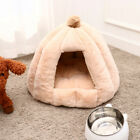 Pet Sleeping Nest Warm Round Dog Kennel Semi-enclosed Cat House for Autumn and W