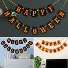 Happy Halloween Bunting Spooky Decorations Home Party Banner Pumpkin Garland