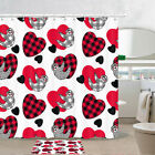 Sloth And Lover Love Shower Curtain Bathroom Decor Fabric 12hooks 71in