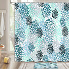 Bohemian Style Daisies Shower Curtain Bathroom Decor Fabric 12hooks 71in