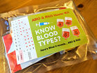 1 x know your blood type Self Blood Group Test ABO RhD Testing Kit CE Marked