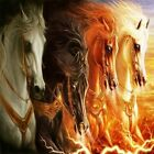 Four Horses Of The Apocalypse DIY Painting Art Paint By Numbers Kit