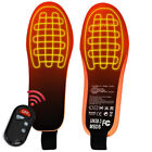 Wireless Remote Electric Foot Warmer Heated Insoles 35-45