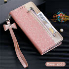 Zipper Wallet Leather Flip Case Cover For Xiaomi Redmi Note 9S Note 10 Note 8Pro