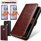 For LG Stylo 6/ K51 Phone Case Leather Wallet Flip Card Slots Holder Stand Cover
