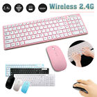 2.4GHz Wireless Gaming Working Keyboard  Mouse Combo Ultra Slim for Laptop PC