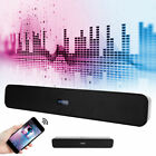 Bluetooth Speaker Wired Outdoor Stereo Bass Sound Loudspeaker Box Home Theater