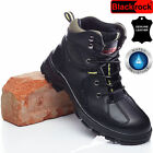 MENS SAFETY BOOTS ARMY POLICE TACTICAL LEATHER STEEL TOE CAP COMBAT WORK SHOES