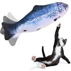 Pet Toy Electric Stimulation Fish Beating Catnip Plush USB Doll