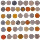 LARGE - BIG DIAMETER COINS 1 INCH 25-29mm . VALUABLE MONEY, DIFF. COUNTRIES