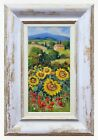 Внешний вид - TUSCANY BIG SUNFLOWERS ORIGNAL PAINTING OIL BRUNO CHIRICI ARTWORK HOME DECOR ARt