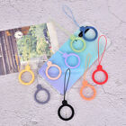 Finger Ring Anti-lost Universal Phone Short Lanyard Silicone Pendant Ring St SG