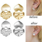 2 Pairs Earring Back Lifters Earring Lifts Support Adjustable Jewelry Helper Aid