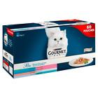 Purina Cat Wet Food Gourmet Perle Chef's Collection In Gravy 60 x 85g Pouches