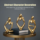 Resin Thinker Abstract Characters Sandstone Sculpture Home Decor Ornament Gift