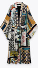 Внешний вид - ZARA WOMAN NWT SS21 PATCHWORK KIMONO LIMITED EDITION ALL SIZES 2866/128