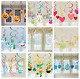 12 HANGING SWIRLS - Special Occasion Party Decorations - Childrens Adult Banners