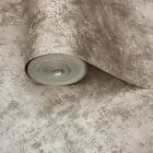 Modern Wallpaper textured rolls Rose gold pink Metallic plain plaster Concrete