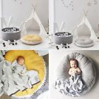 Soft Cotton Baby Kids Game Gym Activity Play Mat Crawling Blanket Floor Rug AU