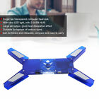 Laptop Cooling Pad Fan With USB Hub Portable Foldable Cooler Computer Supplies