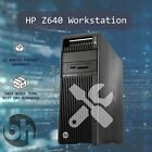 HP Z640 WorkStation - Configure to Order upto 3.7GHz 64GB RAM 1TB NVMe Win10Pro