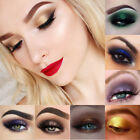 PHOERA 12 Colors Pearlescent Matte Eyeshadow Eye Shadow Palette Makeup INS mou