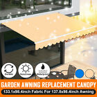 Patio Awning Canopy Waterproof Sun Shade Shelter Replacement Fabric Top Cov t