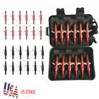 12 Pack 2 Fixed Blade Archery Hunting Broadheads 100 Grain with Case Arrow Head