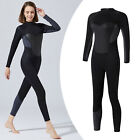 Wetsuits Women Diving Suits Long Sleeve Back Zip Swimwear for Water Sports
