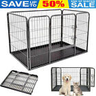 Heavy Duty Puppy Dog Pet Play Pen Run Enclosure Welping Playpen with Floor Tray
