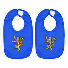 House Lannister Casterly Rock Tyrion Infant Baby Bib Cotton Hook & Loop 2-Piece