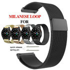 20mm Watch Band For Samsung Galaxy Watch 4 Classic Milanese Loop Bracelet Strap