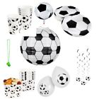 Football Themed Party Range - Tableware Supplies Birthday Decorations