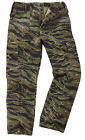 Men's Bdu Military Army Combat Cargo Tiger Camo Work Trousers M65 Pants 28-46