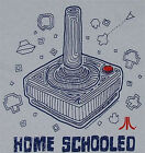 Licensed Atari *HOME SCHOOLED* Game Joystick T-Shirt
